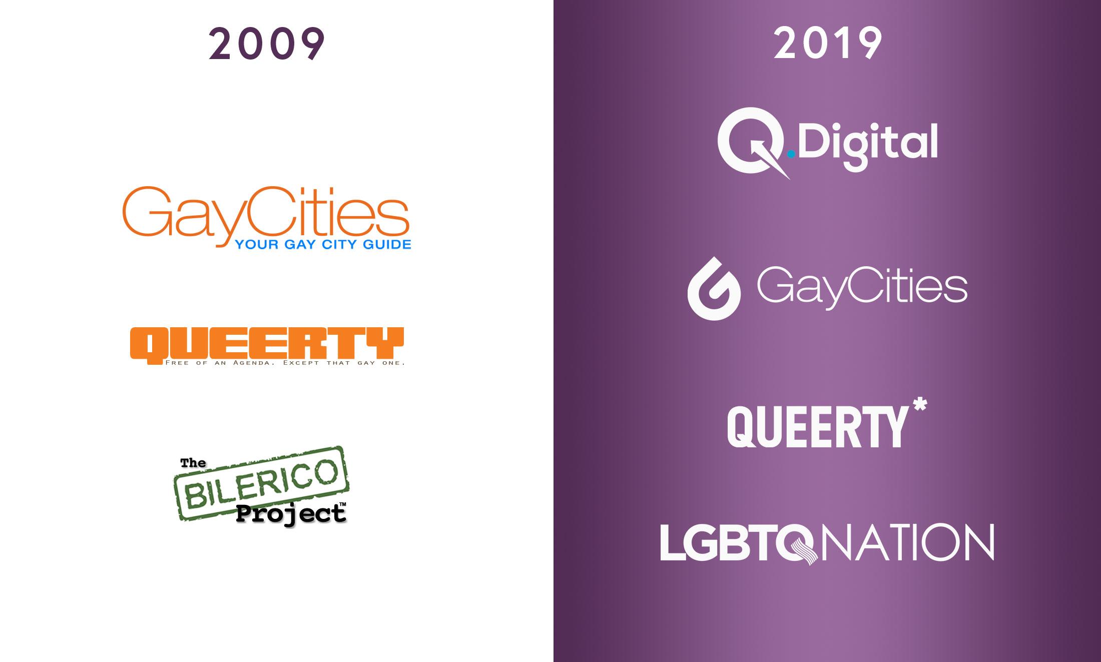 Q.Digital logos